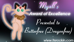 Myall's Award of Excellence