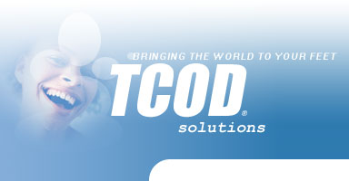 TCOD solutions - bringing the world to your feet