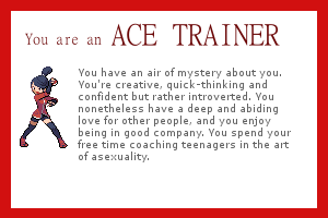 I am an Ace trainer!