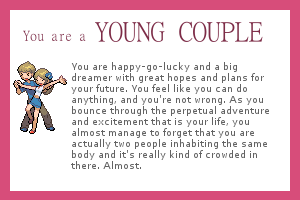 I am a Young couple!